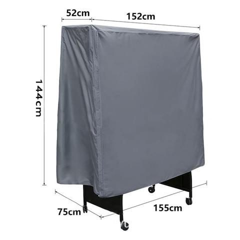 cinza oxford tenis de mesa ping pong mesas cobrir a prova dwaterproof agua dobravel saco