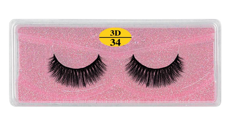 Ha82d855c8b7541ceac76ad62c5c9eb96Q - MB Eyelashes Wholesale 40/50/100/200pcs 6D Mink Lashes Natural False Eyelashes Long Set faux cils Bulk Makeup wholesale lashes
