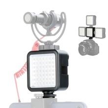 Ulanzi Ultra Bright LED Video Light 49 Dimmable High Power Panel for DJI Ronin-S Canon Nikon Sony DSLR Cameras