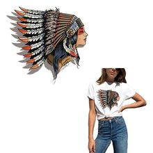 Beautiful Indians Patches For Clothing A-level Washable DIY T-shirt Jeans Iron-On Transfers Decoration Accessory Clothes Sticker canada maple leaf iron on a level patches for diy t shirt bags accessory decoration applique badge sticker patches washable
