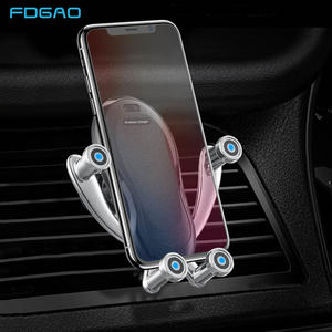 FDGAO Car-Phone-Holder iPhone 11 Automatic Samsung S10 Wireless 10W Mount for XR Xs-X-8