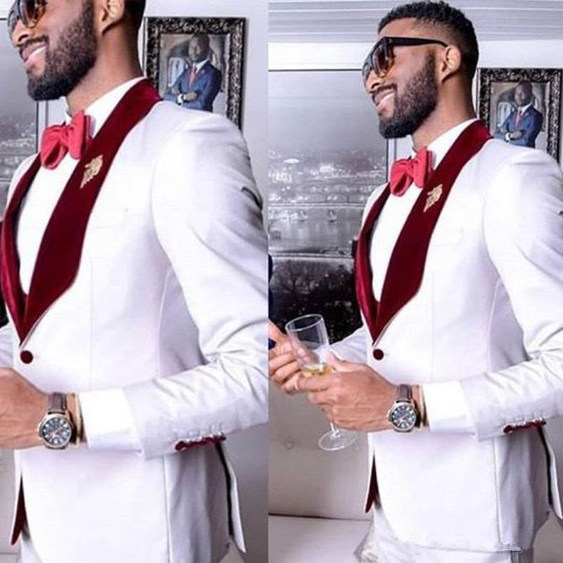 White-Formal-Party-Mens-Suits-for-Wedding-2-Piece-Groom-Suits-Wine-Red-Shawl-Lapel-Slim