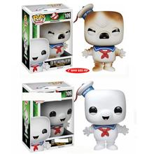 FUNKO POP Movie Ghost Busters stay puft marshmallow man 109# Vinyl Action Toy Figures Colres Car Collectible Model Children gift
