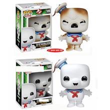 Funko Pop Movie Ghost Busters Blijven Puft Marshmallow Man 109 # Vinyl Actie Toy Figures Colres Auto Collectible Model Kinderen gift