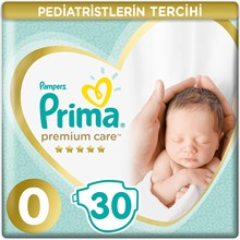 -Pampers Prima Premium Care Protection Baby Diapers Nappies Newborn New Baby Size 0 Micro 30 60 90 Pieces 0-2.5Kg