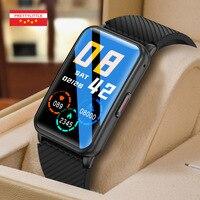 Reloj inteligente deportivo H9-6 para hombre y mujer, pulsera con función de auriculares TWS, 1G de memoria, completamente táctil, rastreador de Fitness, llamadas por Bluetooth