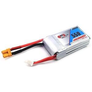 Image 3 - Gaoneng batterie GNB 2 pièces, 11.1V, 550mAh, 80/160C 3S, Lipo JST XT30, pour cinéma de course Micro Emax Babyhawk FPV, wharf BetaFPV Drone