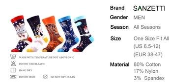 Sanzetti brand 2020 men socks new