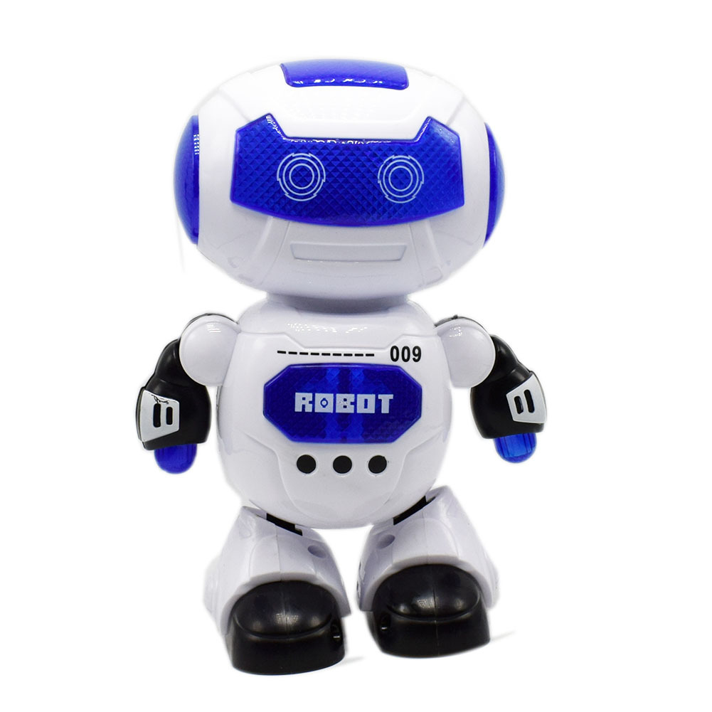 Electric Colorful Light Music Dance Swing Robot Children's Toy Supermarket Street Night Market Supply
