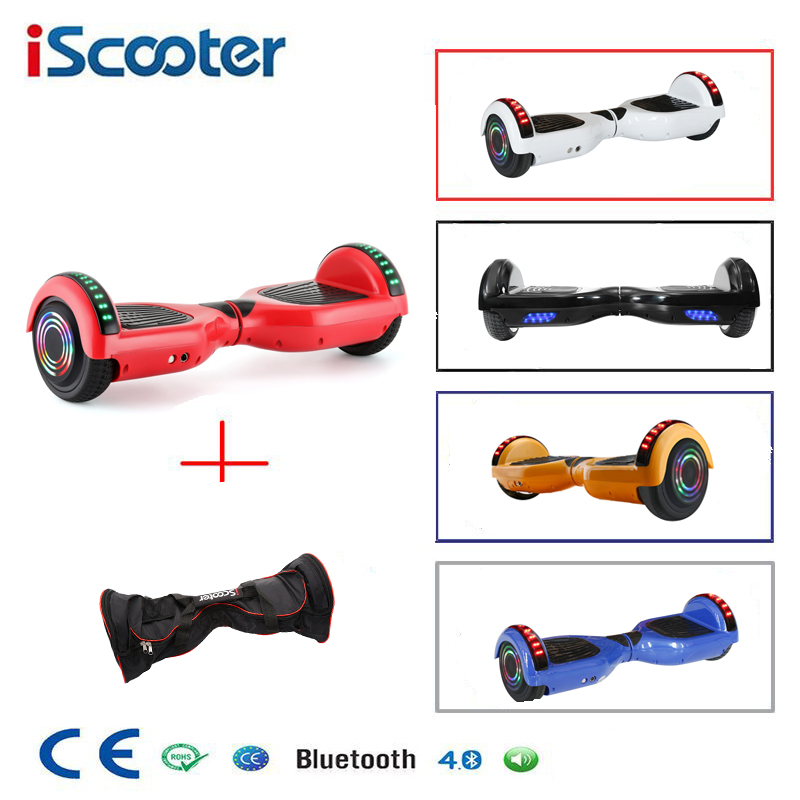 6.5 Inch Hoverboard Two Wheels Self Balance Scooter Hover Board With Carry Bag|Self Balance Scooters| |  - title=