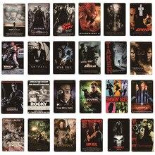 Cartaz de filme metal estanho sinal casa bar cafe clube cinema decoração da parede pintura de metal clássico filme artgift para fãs de filmes al094