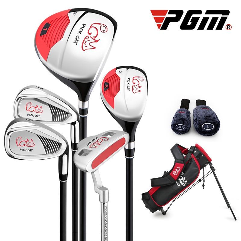 PGM Boys Golf Club Girls Learn Kit Portable Kids Training Club JRTG007