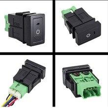 1PC BSM DRL LEDที่จอดรถเรดาร์แหล่งจ่ายไฟพวงมาลัยSheelปุ่มสำหรับSuzuki New Tianyu SX4