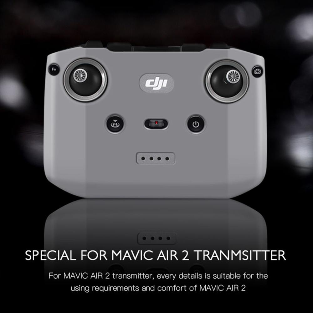 cheapest DJI Remote Controller Dust-proof Silicone Protective Cover Scratch-proof for DJI Mavic Air 2 RC Transmitter Control Accessories