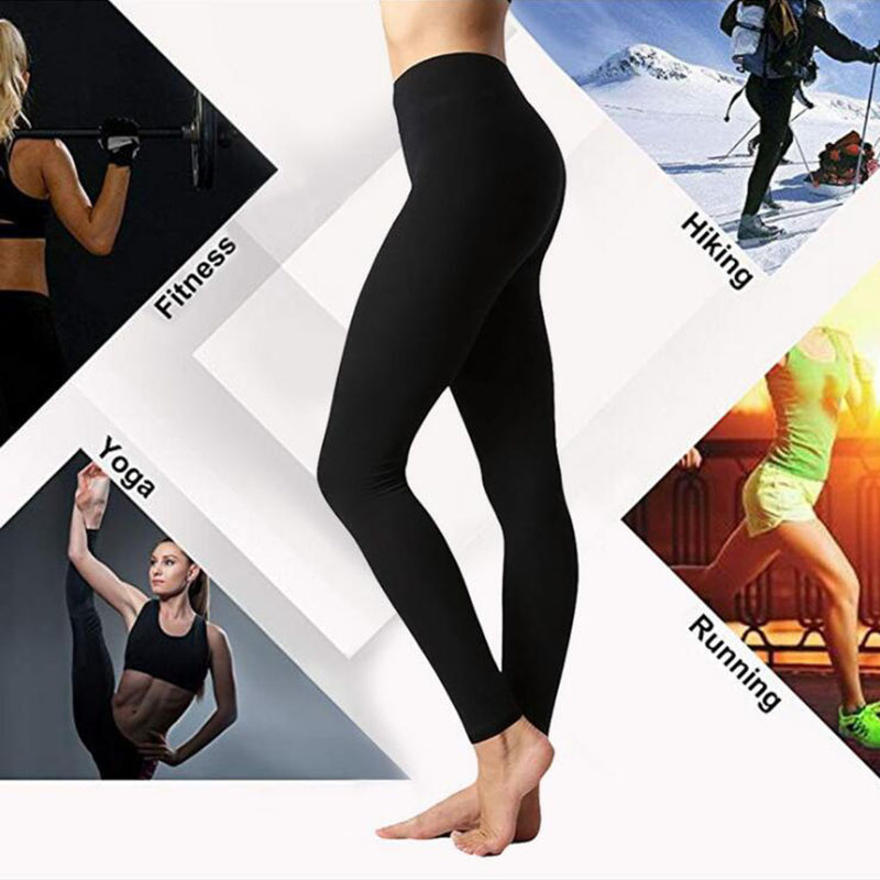 Autumn And Winter Warm Pants Hot Selling High Waist Legging Plain Salad Women Pants Women Winter Leggings 10