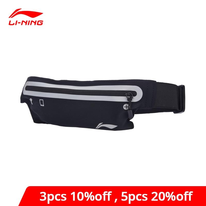Li-Ning Unisex Running Waistpack Nylon Reflective Waterproof Men&Women LiNing Li Ning Sports Waistpack Bag ABLM026 BJY035