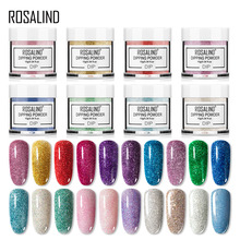 Resin Pigment Dipping-Powder Rosalind Glitter Base-Top Nail-Dust-Decorations Need