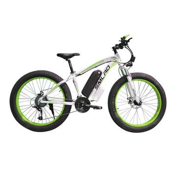 XDC600 SMLRO Newest Model electric bicycle 26*4.0 Inch 48V 350W Snowbike E Bike 1