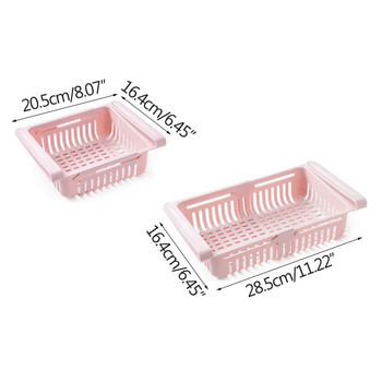 Adjustable elastic organizer for the refrigerator  6