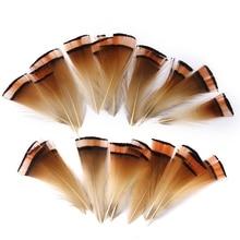 Перо фазана для масок 6-8 см 50 шт