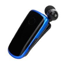 K39 Mini Portable Earset Wireless Bluetooth 4.1 Earphone In Ear Headset Vibrating Alert Wear Clip Hands Free Earphones For Phone