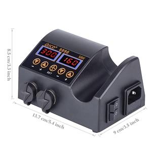 Image 5 - 2 ב 1 750W הלחמה תחנת LCD תצוגה דיגיטלית ריתוך עיבוד חוזר תחנת לתא טלפון BGA SMD PCB IC תיקון הלחמה כלים 8898