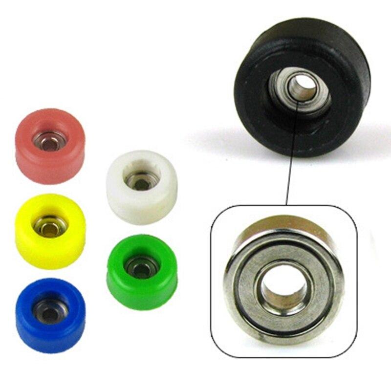 4 Pcs/Set Professional Urethane CNC Bearing Wheels for Wooden Fingerboard