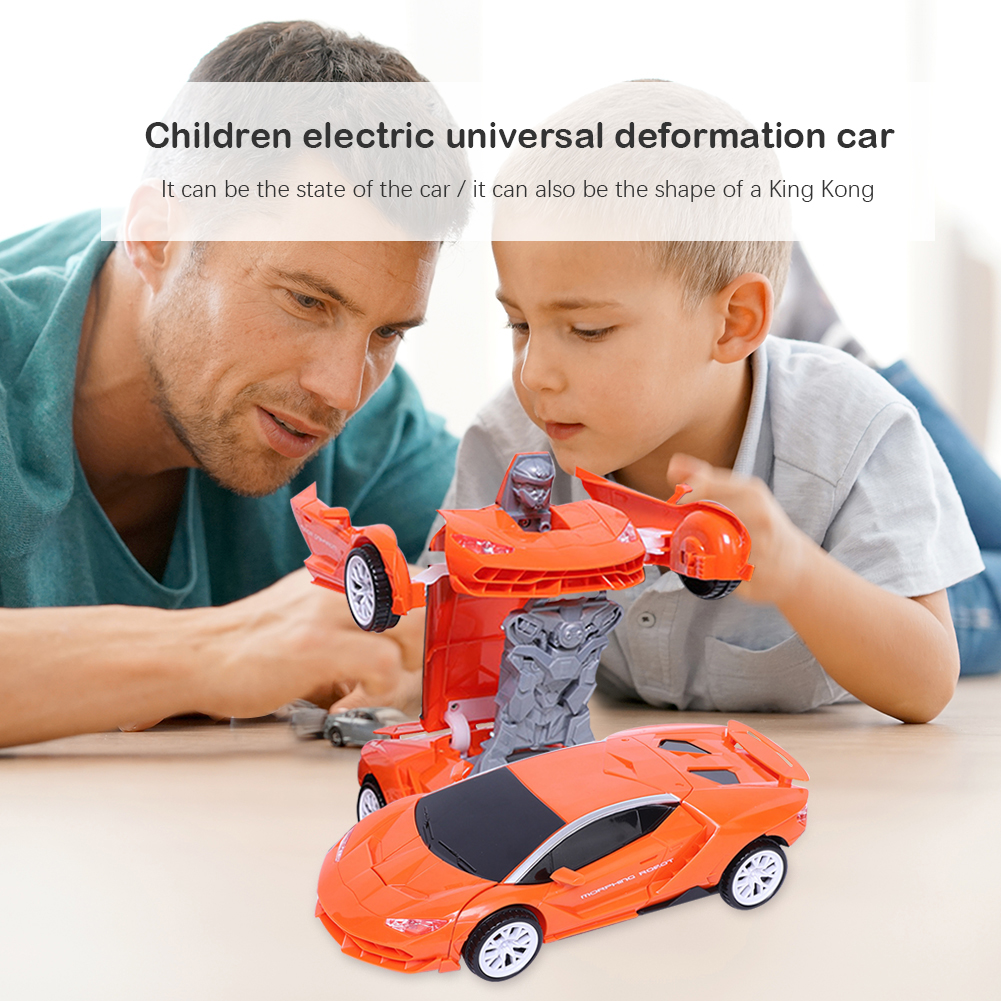 Car Transformation Robots Hand-eye Coordination Hand Flexibility Vehicle Deformation Model Kids Children Toys Boys Gift