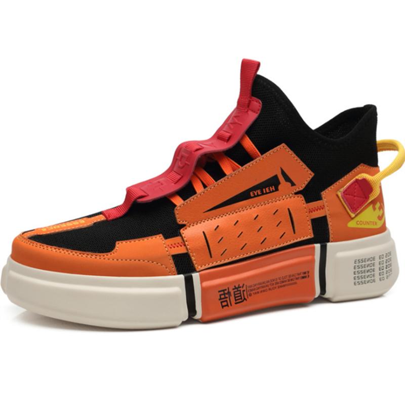 Women Chunky รองเท้าผ้าใบแพลตฟอร์มหนาสุภาพสตรี Vulcanize รองเท้า Web Celebrity พ่อหญิงแฟชั่นรองเท้าผ้าใบ Designer
