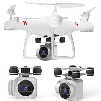 цена RC Helicopter Drone With Camera HD 1080P WIFI FPV Selfie Drone Professional Foldable Quadcopter 40 Minutes Battery Life онлайн в 2017 году