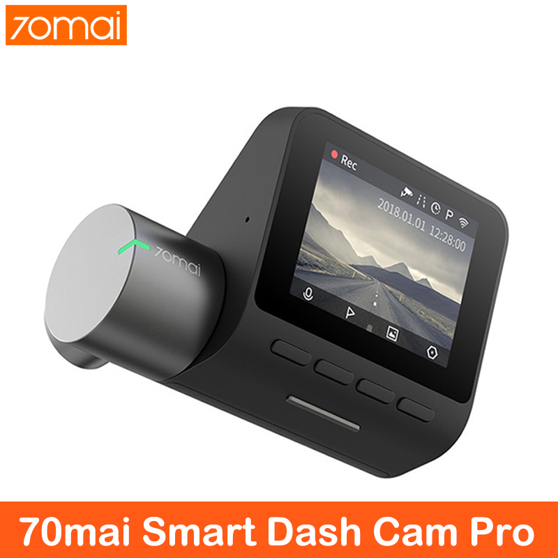 XiaoMi 70mai Pro Dash Cam Full HD 1944P автомобильная камера рекордер gps ADAS 70 mai Wifi Dvr автомобильный 24H монитор парковки 140FOV ночного видения