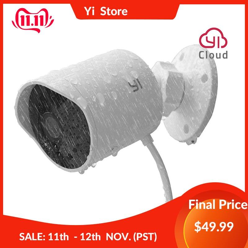 YI Wifi Outdoor Kamera 2,4G Wireless Security IP Cam Auflösung Wasserdicht Motion Detection Sicherheit Überwachung System Wolke