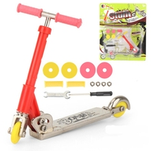 Metal Alloy Finger Scooter Mini Scooter Two Wheel Scooter Kids Gift