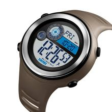 SKMEI Outdoor Multifunction Sport Watch Men Digital Watches 5Bar Waterproof PU Strap Calorie Weekdisplay часы мужские 1395