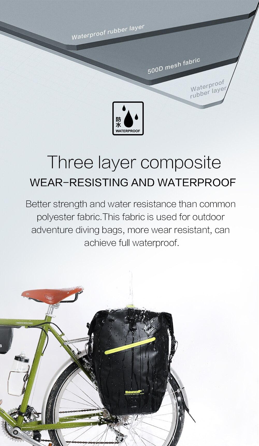 Waterproof Bike Pannier Bag (3)