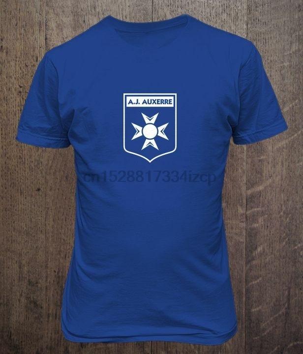 AJ Auxerre France Soccer T Shirt football Futbol
