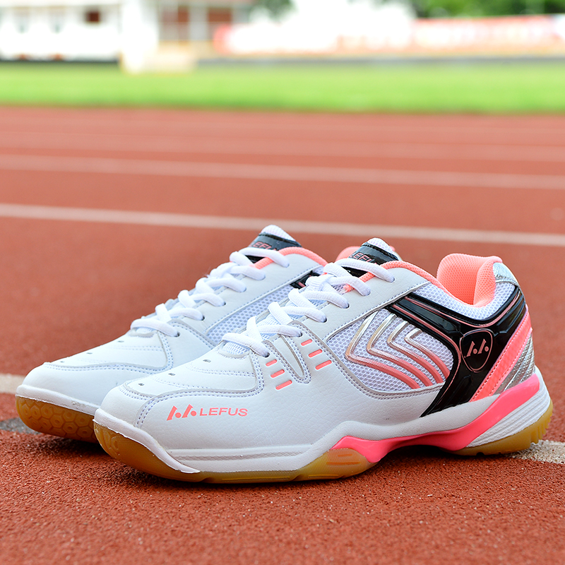 Women's Volleyball Shoes With Non-slip Sport Shoes Wear Casual Shoes Sneakers Men Soft Lightweight Badminton Shoes Tennis Shoes
