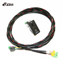 5G0035222 juego de coche Original USB AUX CarPlay MDI USB AMI instalar enchufe arnés para Golf 7 MK7 5G0 035 222