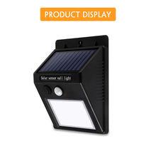 Светодиодный светильник на солнечной батарее уличный с 20 светодиодами