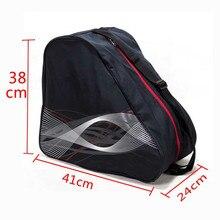 Толстая профессиональная сумка для лыжных ботинок, для катания на лыжах и сноуборде, переносная сумка на плечо, Нескользящие Черные Аксессу...
