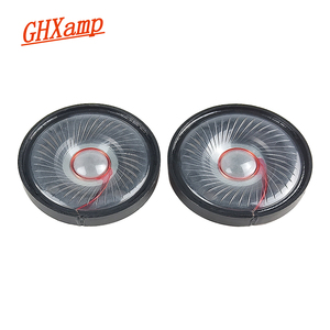 Image 1 - GHXAMP 50mm Headphone Speaker Headset Driver 32Ohm 112db HIFI 2019 Speaker Repair Parts For Headphones 2pcs