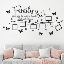 Wall Vinyl Sticker Bedroom decals Family Roots wall decal Wall Art Home sweet Home Stickers Kids Living room decoration HY781 yoyoyu vinyl wall decal dream catcher feather exquisite interior living room art home decoration stickers fd315