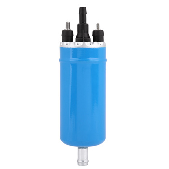 Blue High Pressure Electric Inline Fuel Pump with Installation Kit with coated shell 0580464038 for BMW E23 E24 E12 E28 E30 image