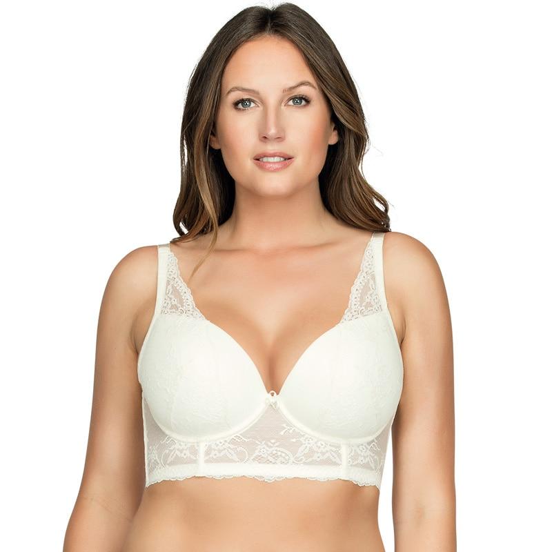 MiaoErSiDai Sexy Lace Bra Push Up Bra For Women Fashion Design Bralette Plus Size Underwear  30-46 D DD DDD E F G H I #5351