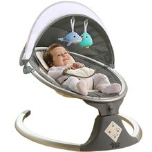Dropship New Safety Baby Rocking Chair With Remote Control Baby Electric Cradle Swing Soothing Artifact Sleeps Newborn Sleeping