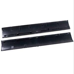 Image 1 - Запасная часть черная крышка корпус передний корпус чехол Левая Правая Лицевая панель для PS3 Тонкая зеркальная консоль