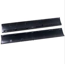 Capa preta para reparo da caixa frontal, estojo do painel da placa frontal da direita esquerda para o console ps3 slim CUH 4000