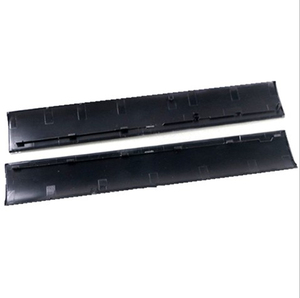 Image 1 - Pieza de reparación de carcasa de cubierta negra funda carcasa frontal Panel de placa frontal izquierda derecha para consola PS3 Slim CUH 4000