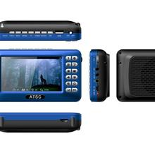 United States Mexico 4.3-inch ATSC Portable TV with Gathering Amplifier Radio Player