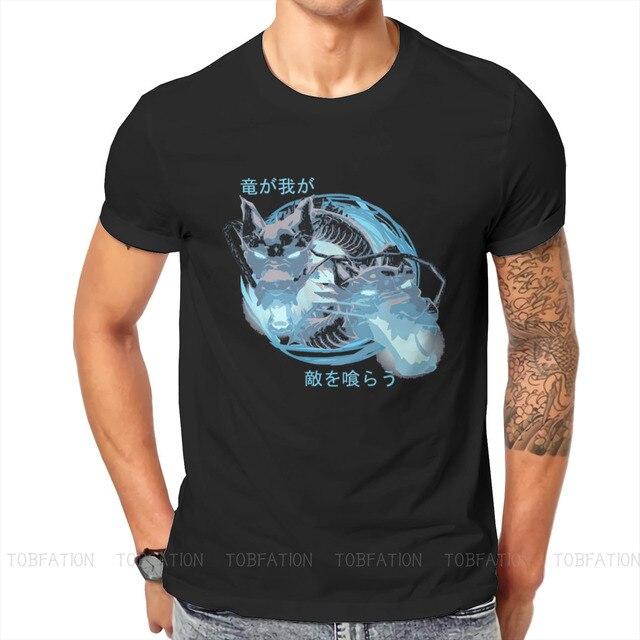 Ryuu Ga Waga TTeki Wo Kurau! Essential Hip Hop TShirt Overwatch Printing Tops Comfortable T Shirt Male Tee Gift Clothes